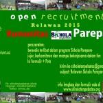 Rekrutmen Relawan Skhola Parepare