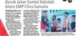 Skhola di SMP Citra Samata Gowa